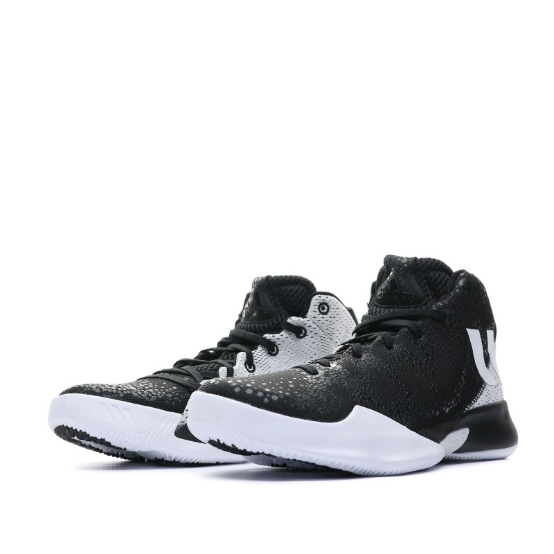 basket adidas noir et blanc