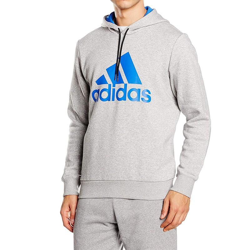 Sweat à Capuche Adidas Homme Gris Pas cher | Espace des Marques