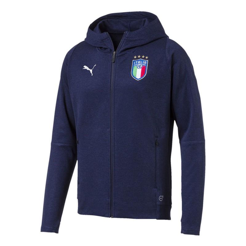 Veste Italie bleue homme Puma pas cher   Espace des Marques