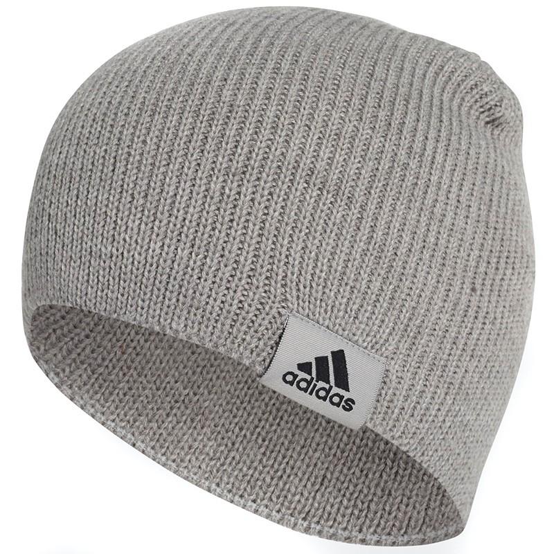 Bonnet gris homme Adidas pas cher