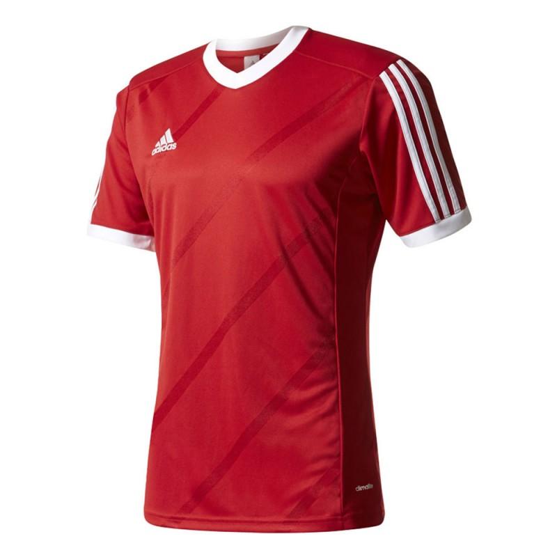 Maillot de foot rouge homme Adidas Tabela pas cher | Espace des Marques