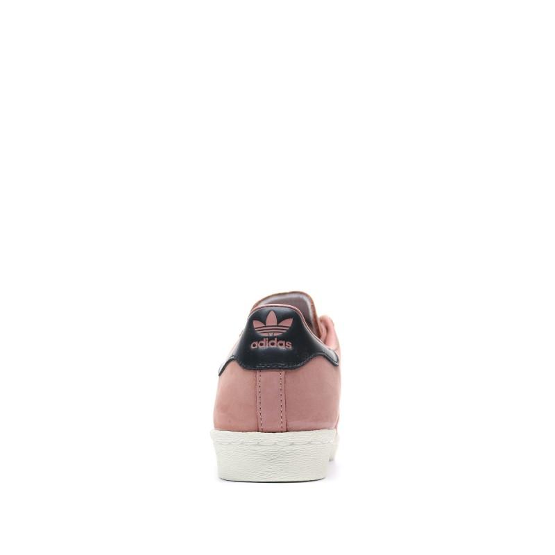 Adidas Superstar 80s rose Femme Pas cher| Espace des Marques