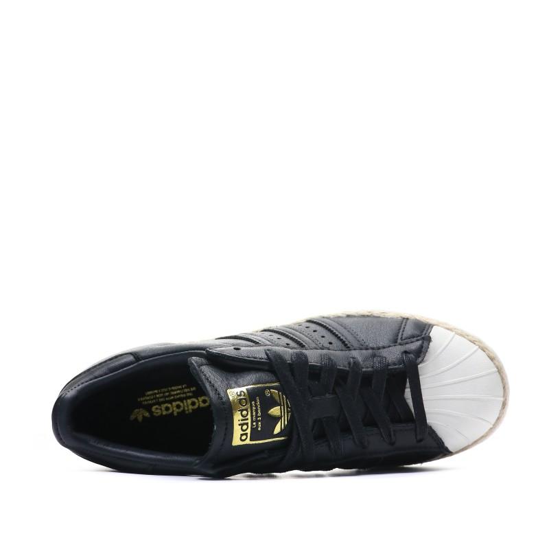 adidas 80s superstar femme noir
