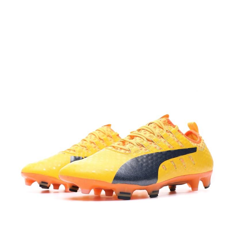 evoPOWER Vigor 1 FG Chaussures de foot orange homme Puma