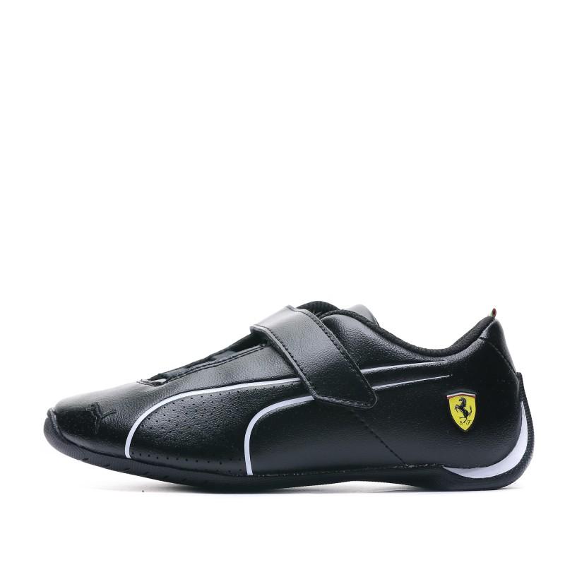 baskets Future Cat Ferrari noir Garçon Puma Pas cher