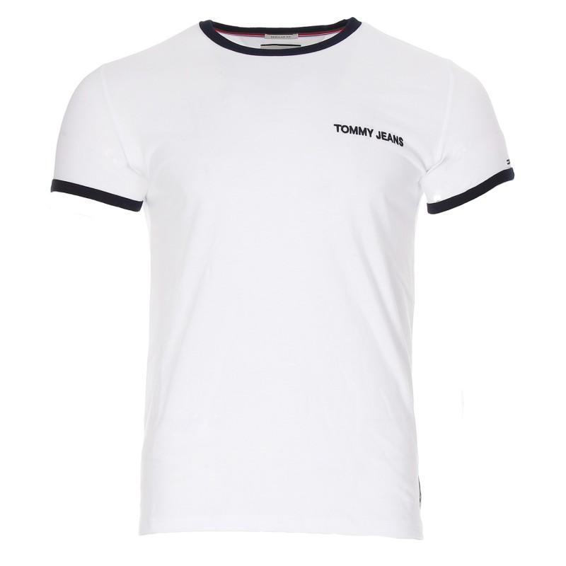 cheap for discount various colors latest fashion T-shirt blanc femme Tommy Jeans pas cher | Espace des Marques