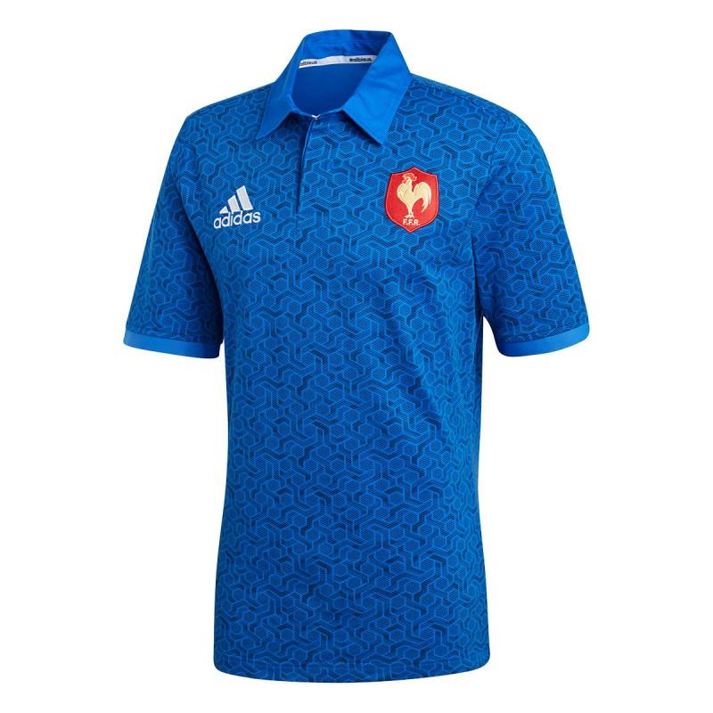 Equipe de France Rugby Maillot supporter domicile | Espace des Marques