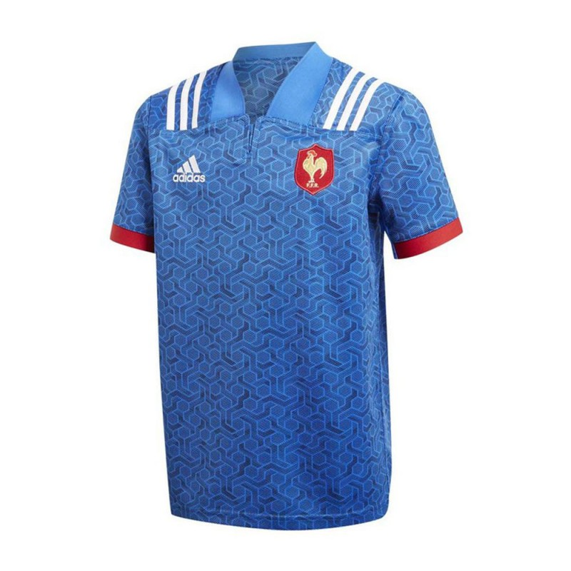Equipe France Rugby Maillot domicile junior