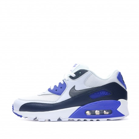 air max 90 essential bleue et blanche