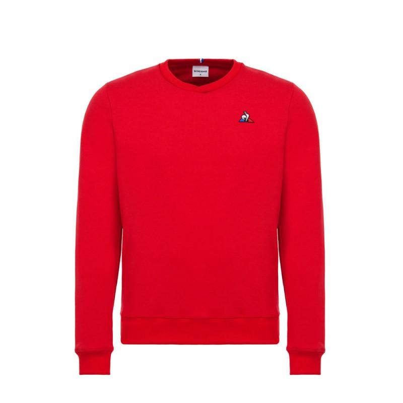 prix attractif obtenir pas cher célèbre marque de designer Sweat rouge homme Le Coq Sportif pas cher | Espace des Marques