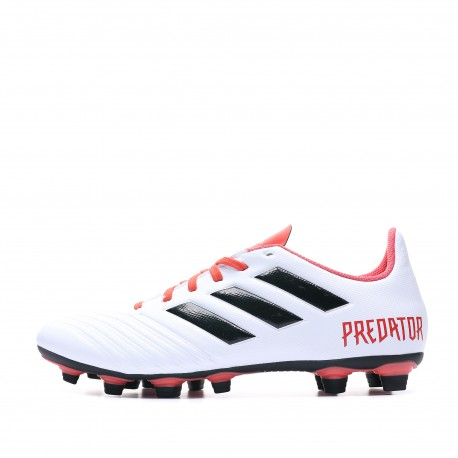 Predator 18.4 FG Chaussures Football blanc homme Adidas