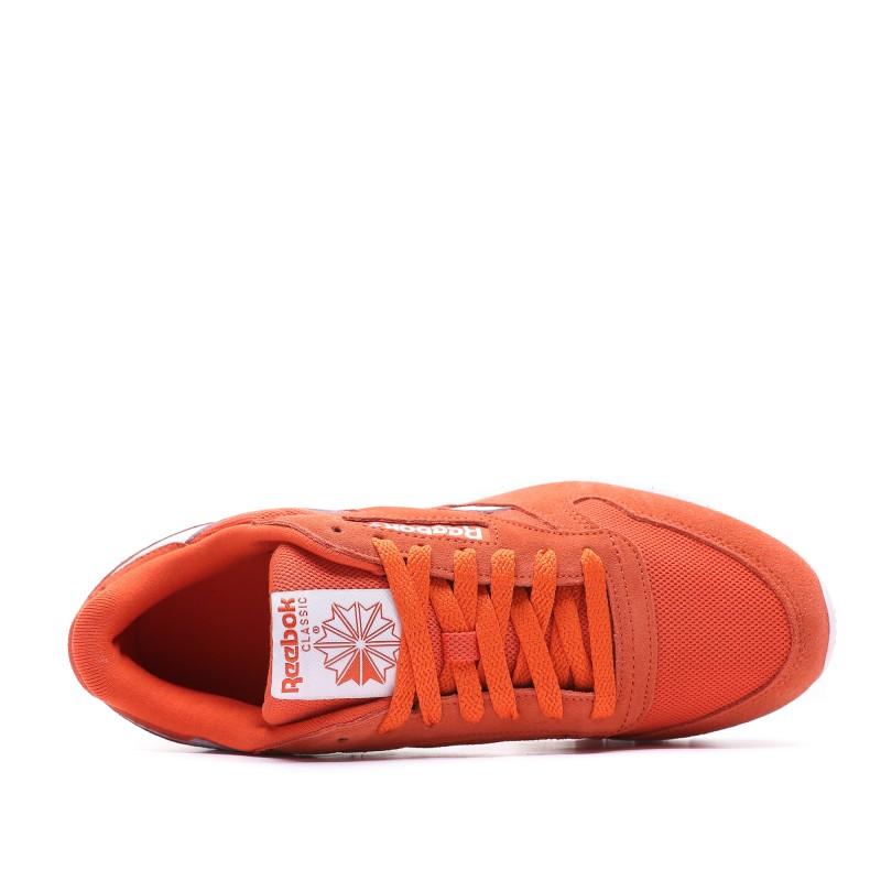 Classic Leather Baskets orange homme Reebok pas cher | Espace des Marques