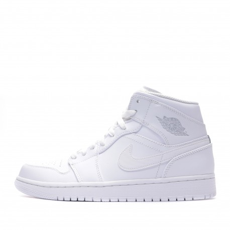 Air Jordan 1 Baskets montantes blanches homme Nike