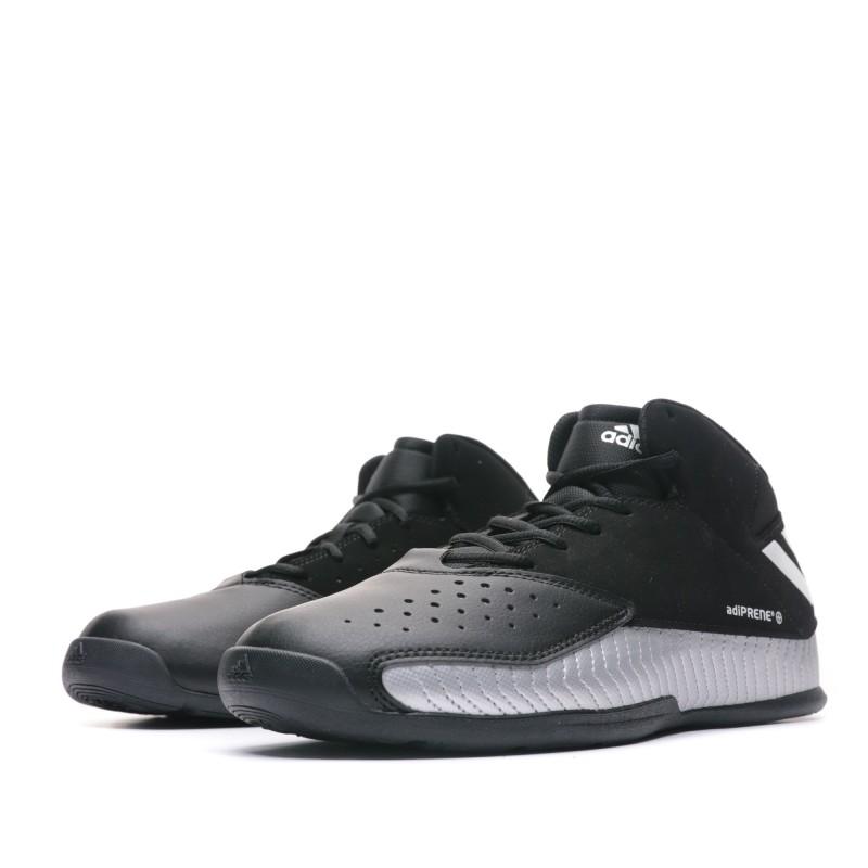 Chaussures basketball noir homme Adidas pas cher   Espace des Marques