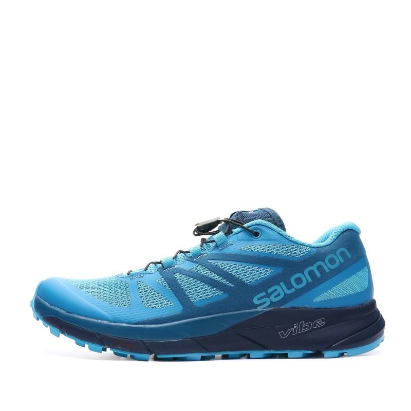 Sense Ride chaussures trail bleu femme Salomon | Espace des Marques