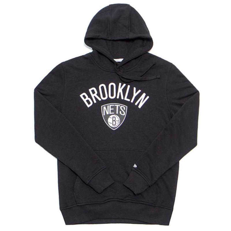 Brooklyn Nets Sweat noir homme New Era pas cher | Espace des Marques