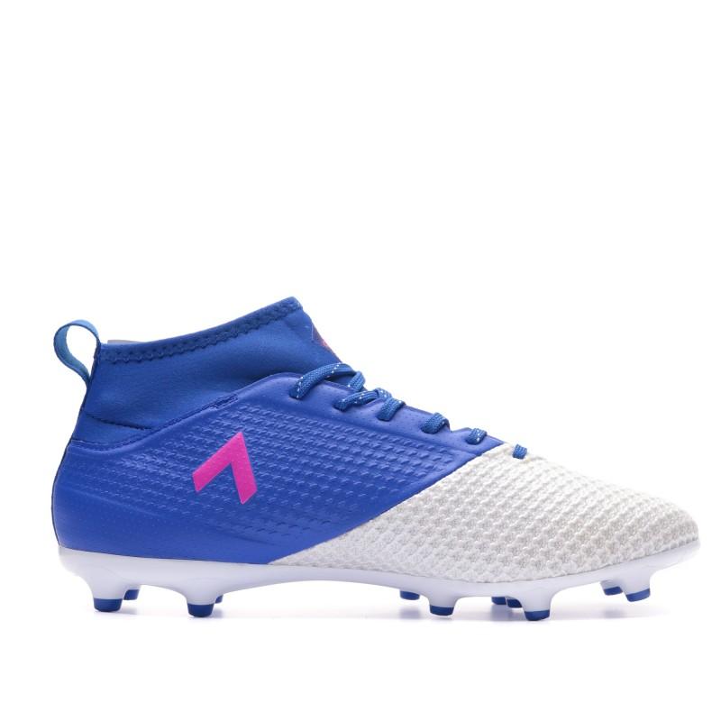 Ace 17.3 FG Chaussures football bleu homme Adidas