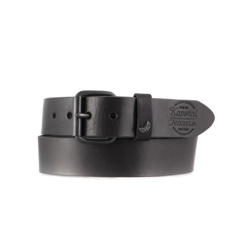 Tommy Hilfiger Hommes Noir 100/% cuir couture Ceinture Homme Ceinture-Cadeau pour Hommes