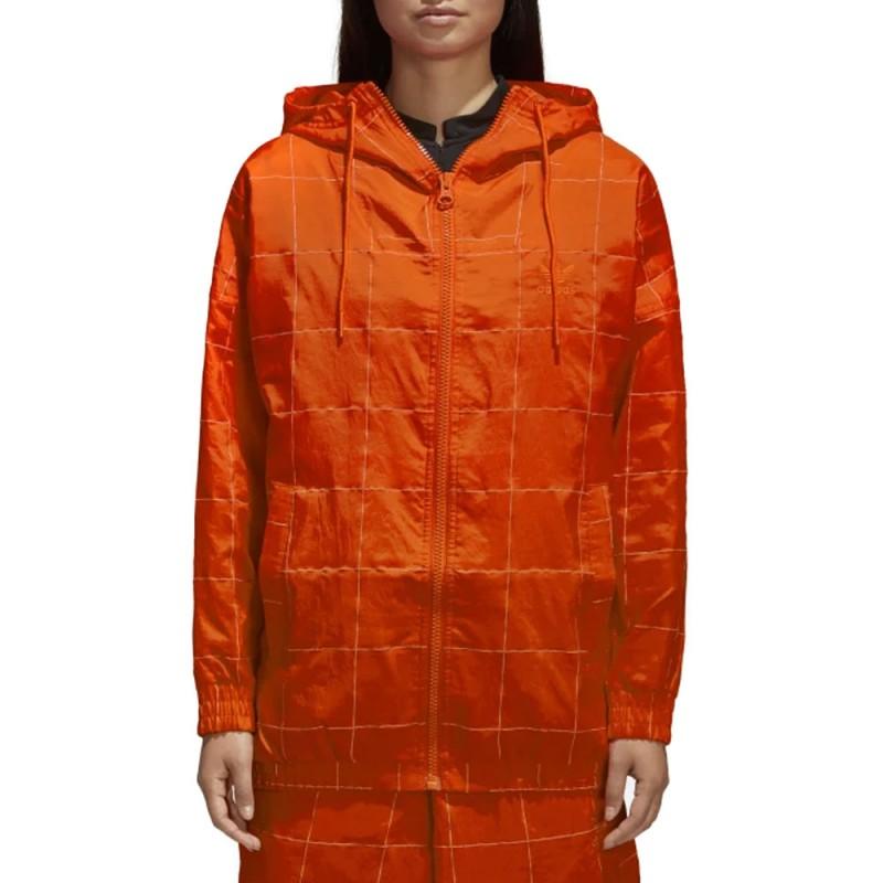 Acheter Coupe vent orange femme adidas pas cher | Espace des Marques
