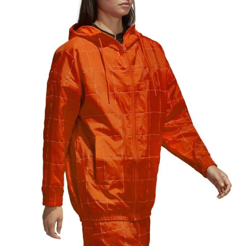 Acheter Coupe-vent orange femme adidas pas cher | Espace des Marques