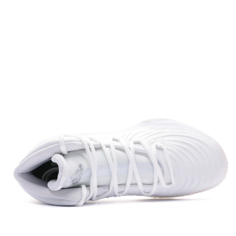 Adidas Crazy Explosive Chaussure basket ball blanche homme Adidas