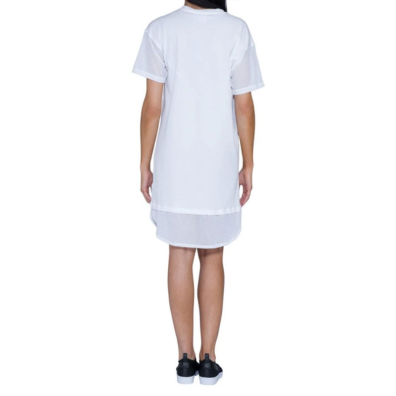 Robe blanche femme ADIDAS CLRDO outlet  Espace des Marques