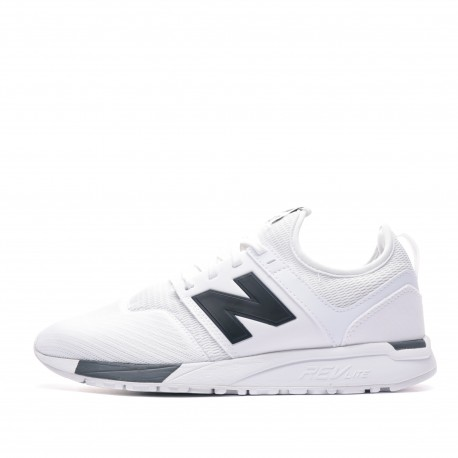 basket blanche new balance homme