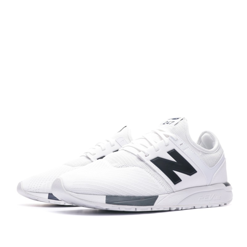 basket new balance blanche homme
