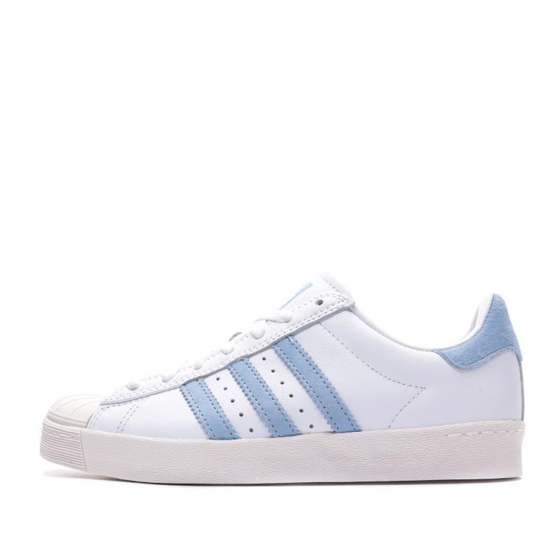 adidas superstar blanche et bleu ciel