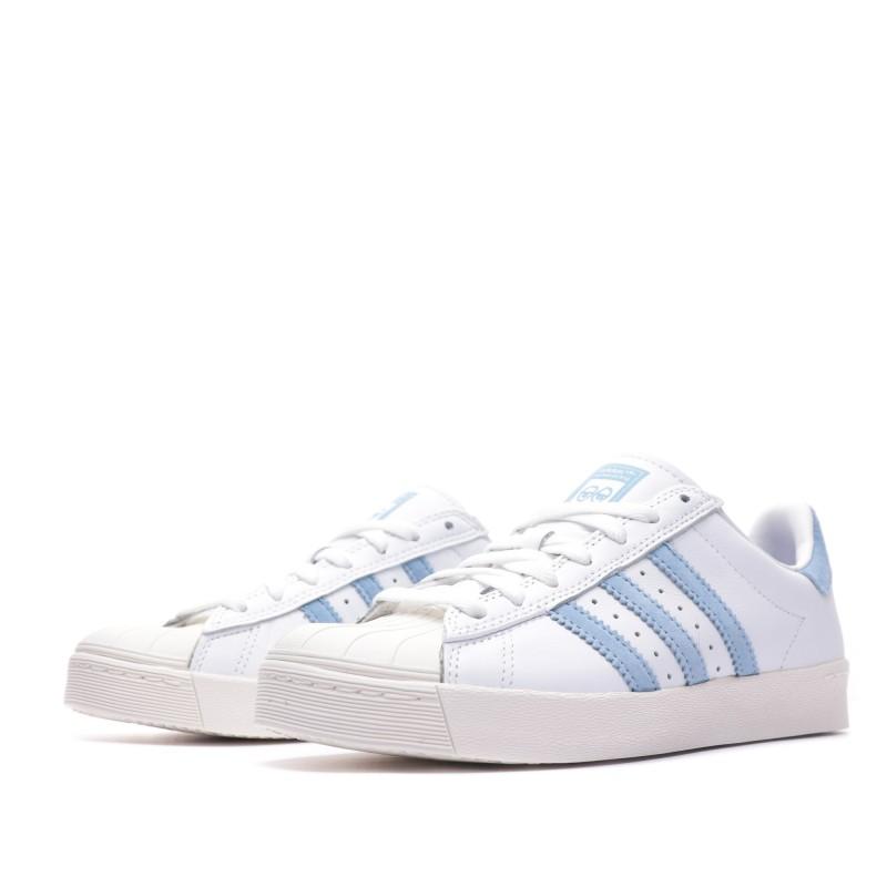 Superstar Vulc x Krooked Baskets blanches hommegarçon Adidas