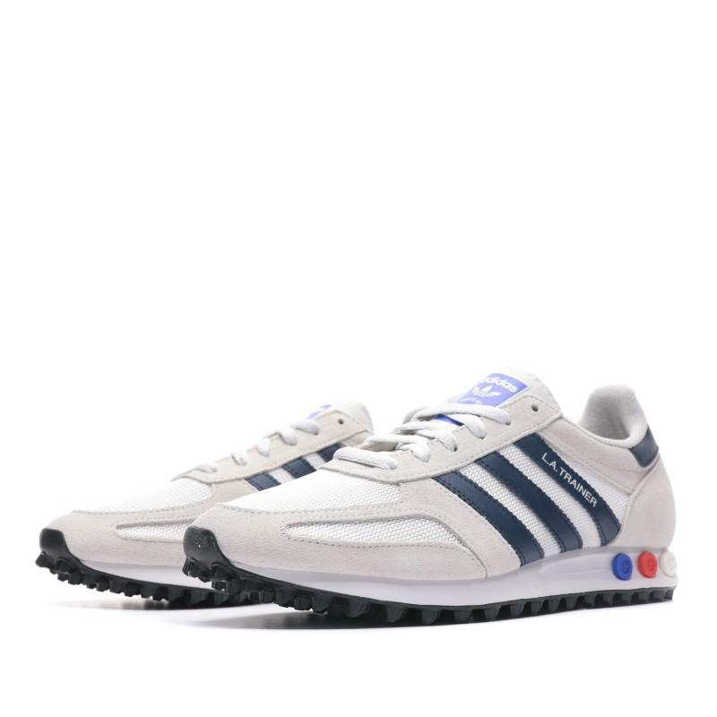 L.A. Trainer chaussure beige homme Adidas pas cher| Espace des Marques