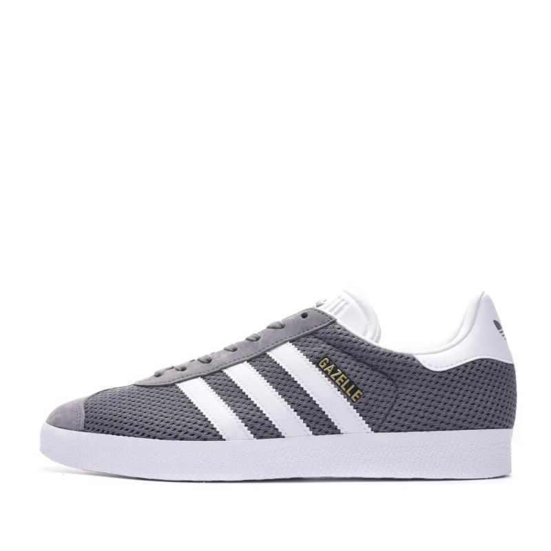 Gazelle Baskets grises homme Adidas pas cher | Espace des Marques