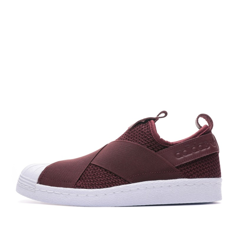 basket adidas femme superstar bordeaux