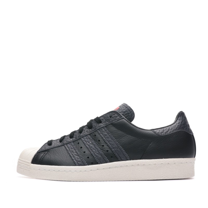 Superstar 80s Baskets noires homme Adidas