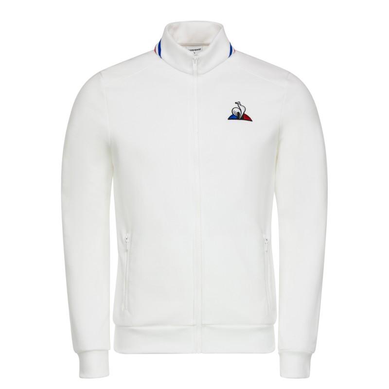 Vêtement Vestes sport Le Coq Sportif homme Tri Fz Sweat Denim N 1 Sky taille