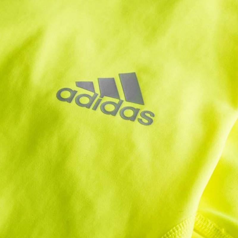 Achat Collant de running jaune fluo Adidas pas cher | Espace des Marques