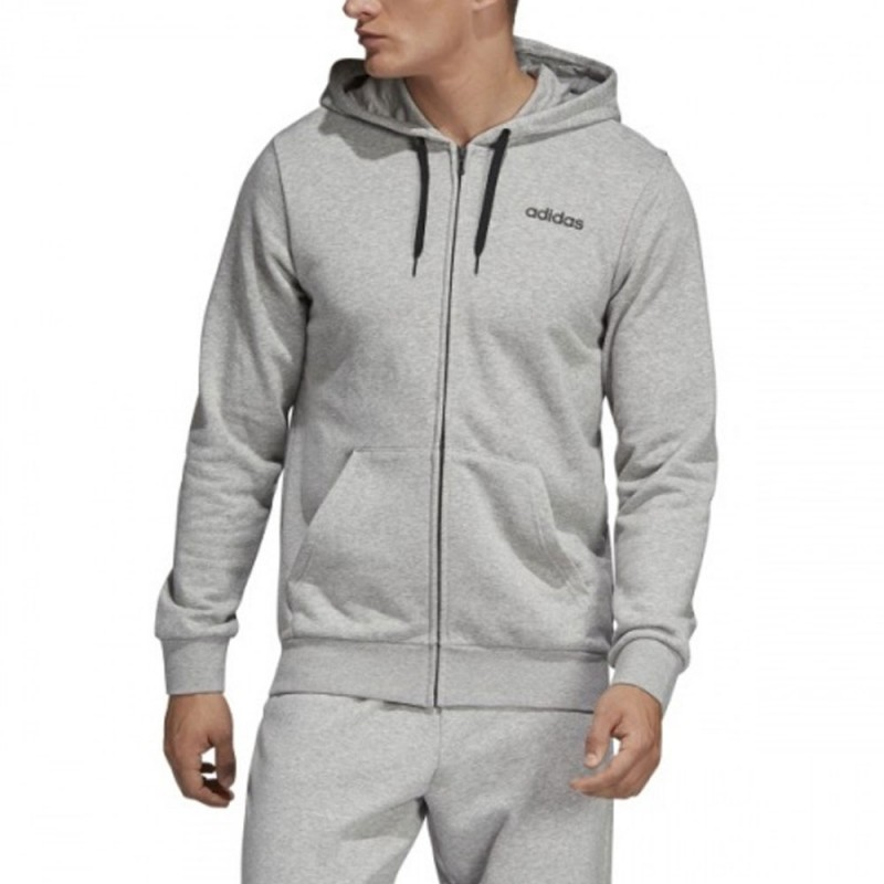 pull adidas gris