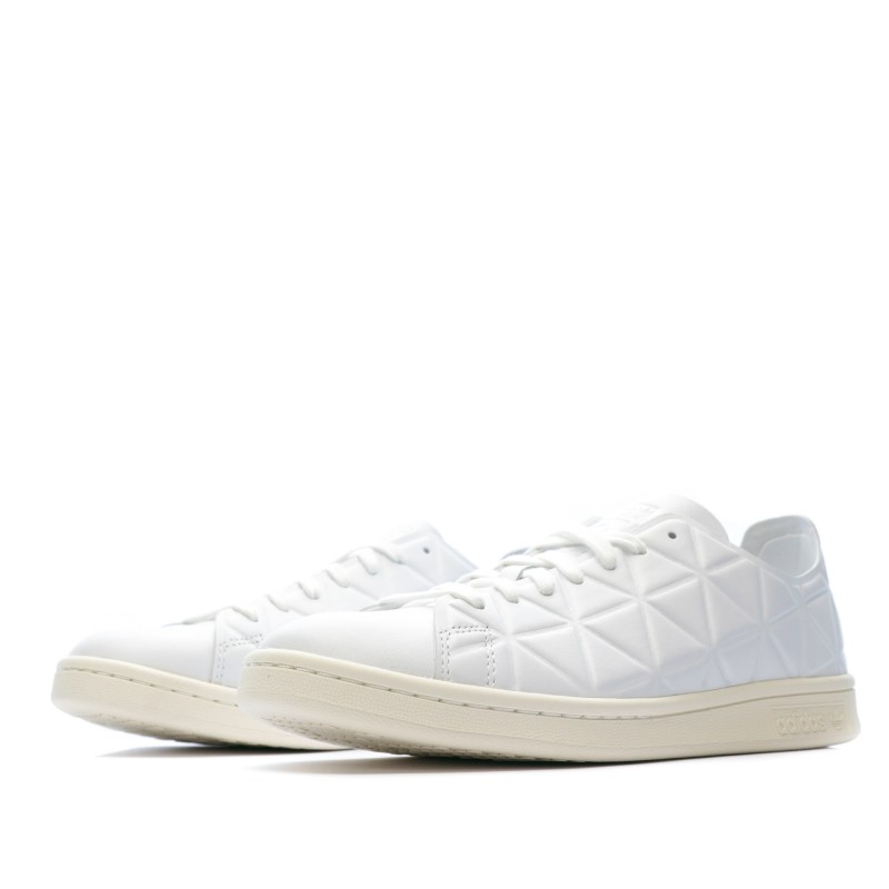 Achat Stan Smith blanches femme Adidas pas cher | Espace des Marques