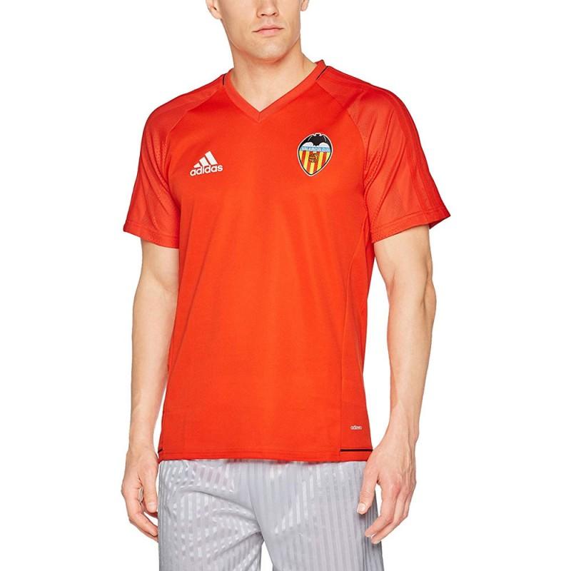 Valencia C.F. Maillot Rouge homme Adidas pas cher | Espace des Marques