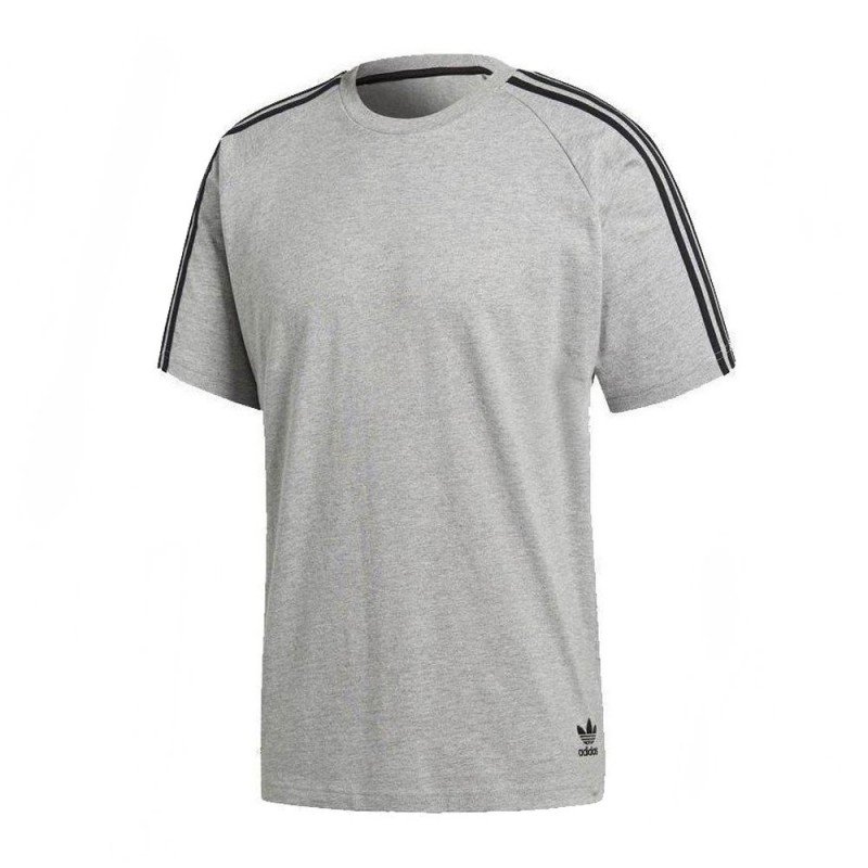 T shirt gris homme Adidas Curated Tee pas cher | Espace des Marques