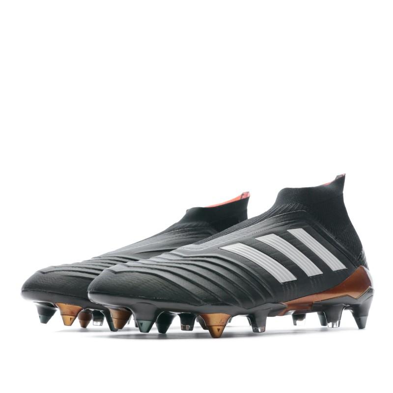 Predator 18+ SG Chaussures Football noir homme Adidas