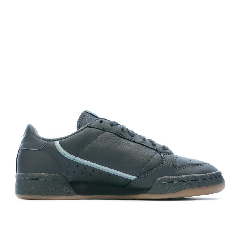 Continental 80 Baskets grises homme Adidas pas cher|Espace des Marques