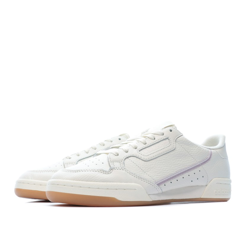 Continental 80 baskets blanches femme Adidas | Espace des Marques