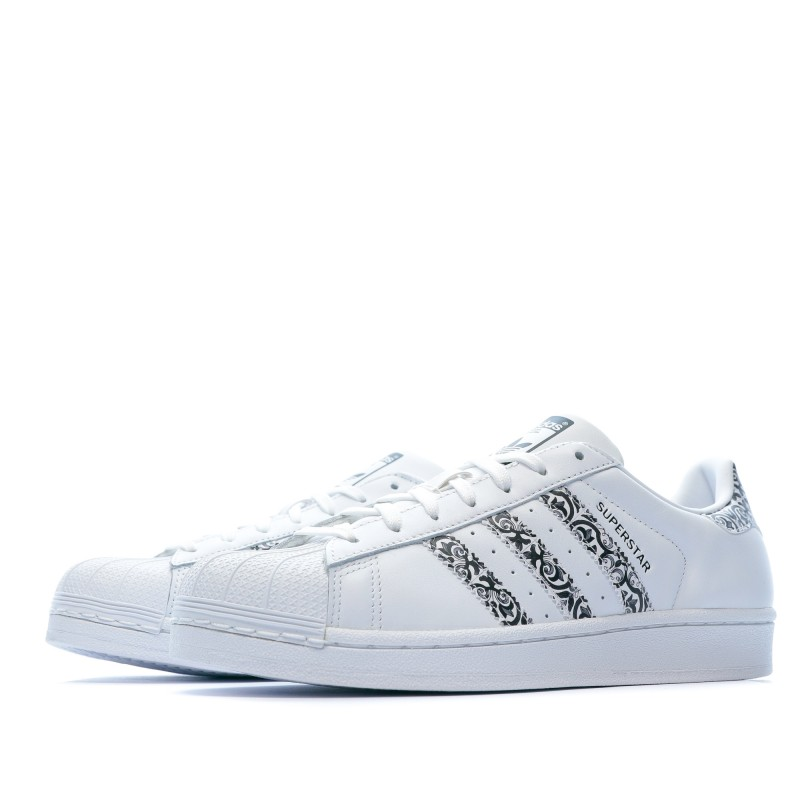 Superstar Baskets blanches femme Adidas pas cher | Espace des Marques