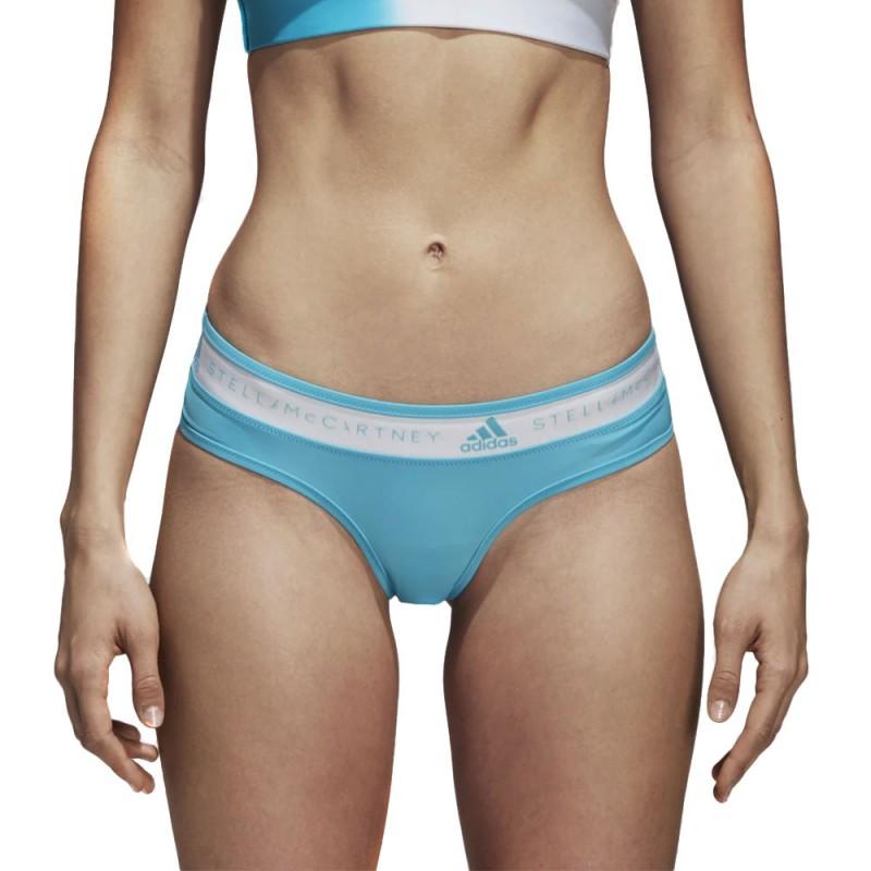 Bas de maillot de bain bleu femme Adidas pas cher | Espace des Marques