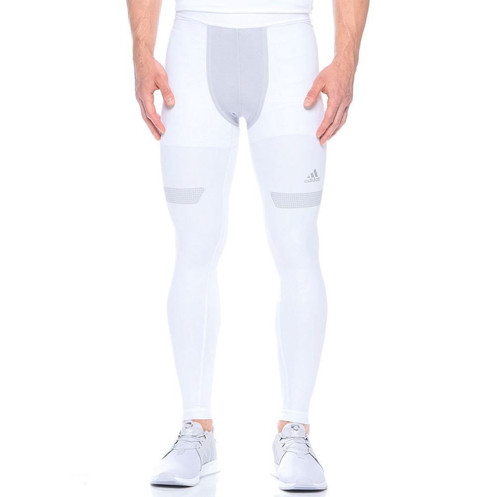 Détails sur Collant blanc homme Adidas Blanc