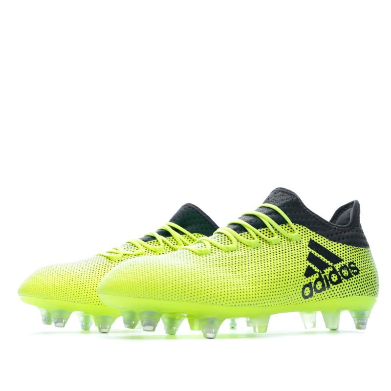 Achat Chaussures Football jaune fluo Adidas X | Espace des