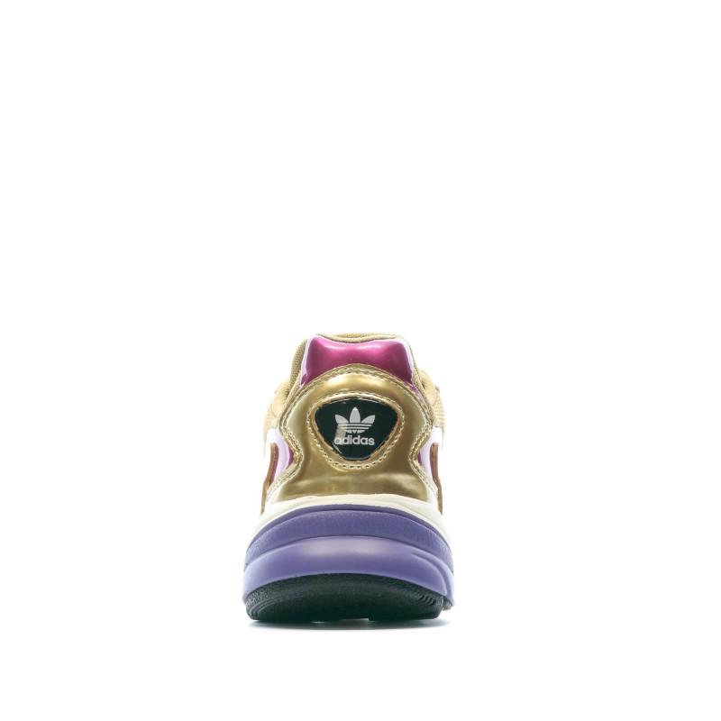 Adidas Falcon Baskets doré femme pas cher   Espace des