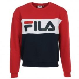 fila blanche disruptor, Fila CREW LEAH Sweatshirt surf the