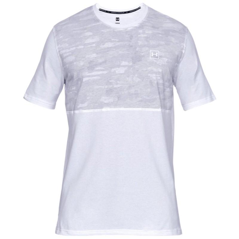 Achat T-shirt blanc homme Under Armour pas